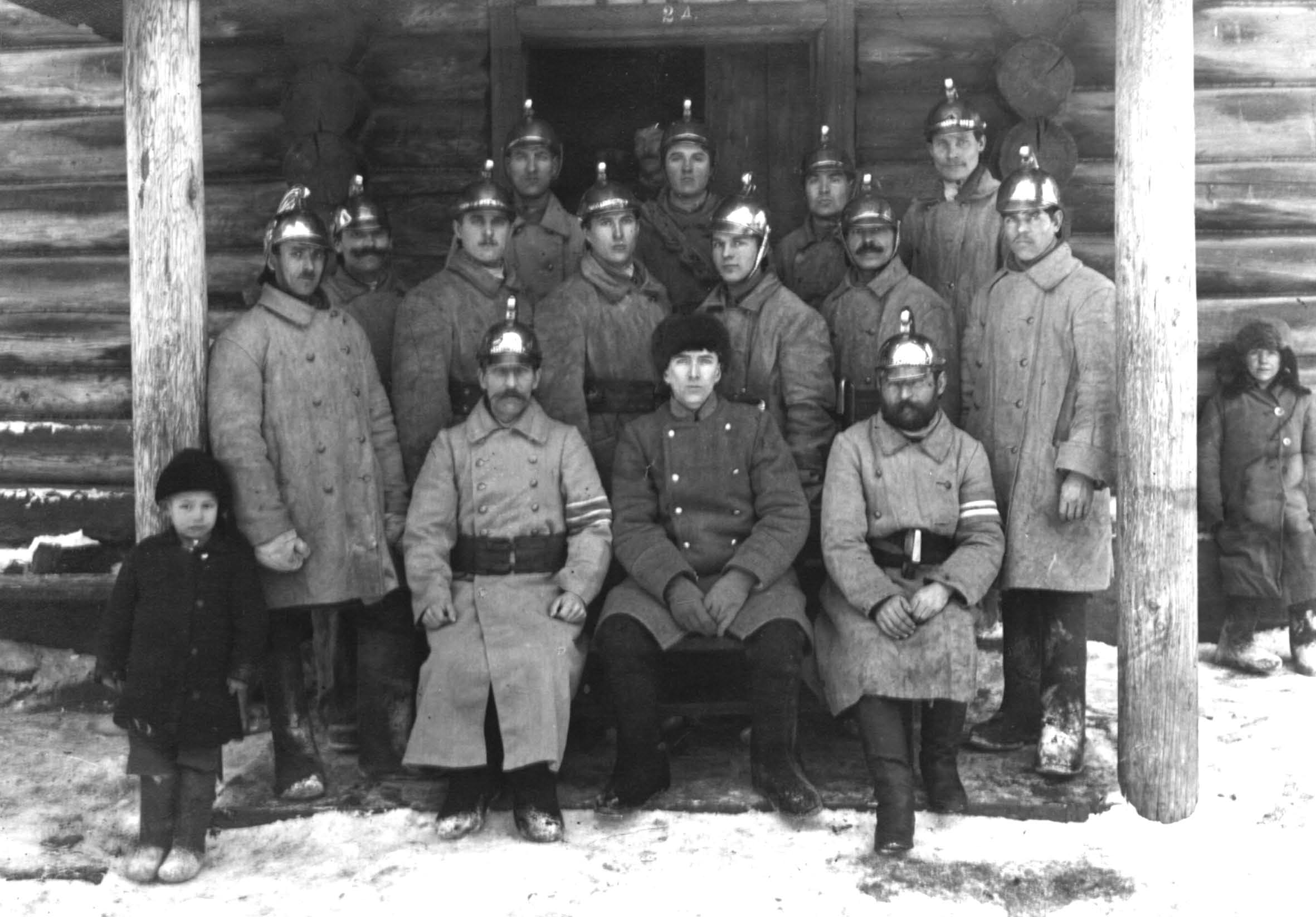 Костромские пожарники